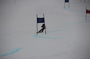 Heidi's son, Stefan, competing
