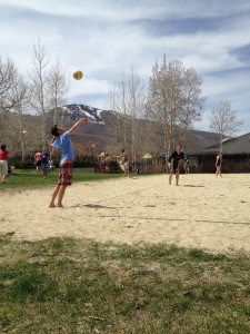 Volleyball in City Park