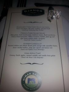DJANGO menu