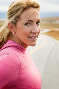 Summer Sanders shoot for Saucony