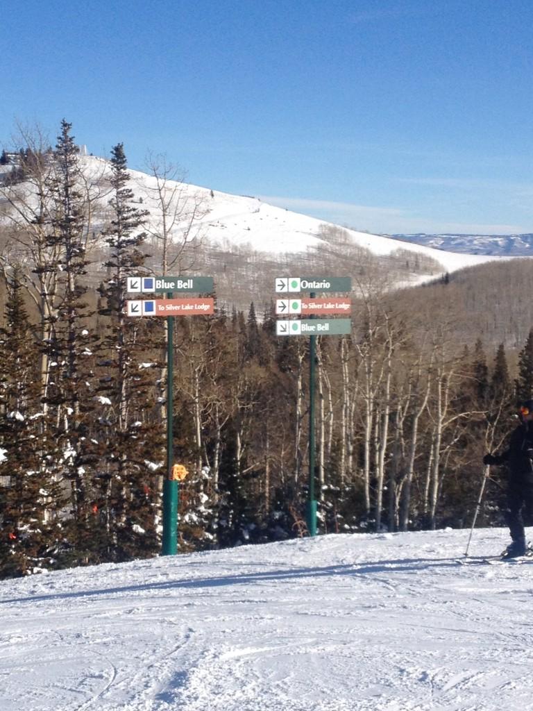 Ski Lesson Sign