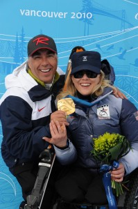 I won the first ever, Paralympic Gold medal in Super Combined in the 2010 Vancouver Games