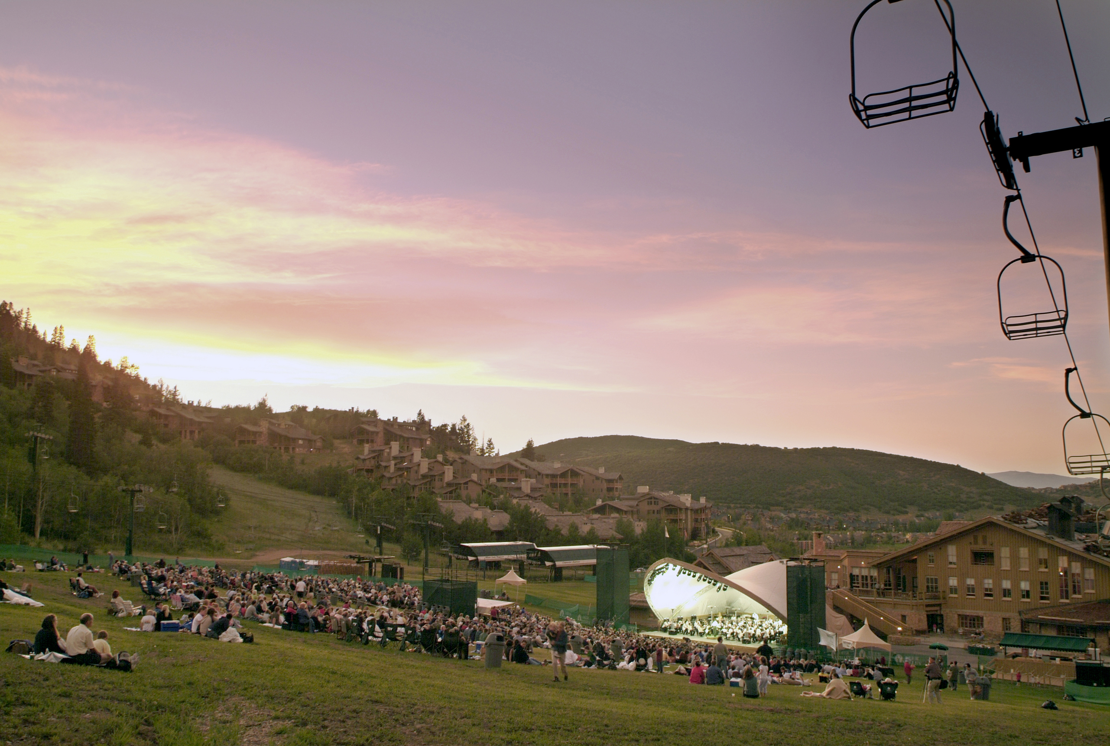 248 Deer Valleys Snow Park Outdoor Amphitheater