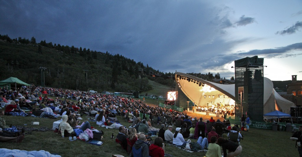 249 Deer Valleys Snow Park Outdoor Amphitheater