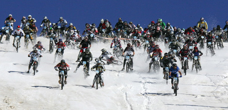 The Mega Avalanche race in Europe
