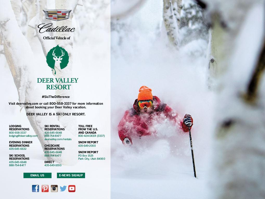 Deer Valley Resort S 2014 2015 Digital Winter Guide The Official Blog Of Deer Valley Resort