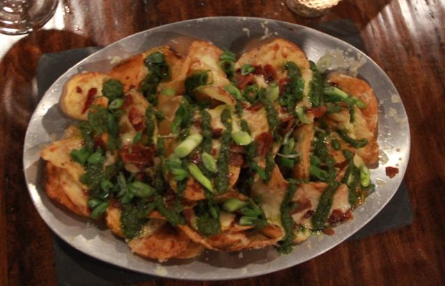 Brass Tag blog - chimichurri potato chip nachos