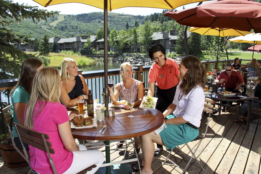 183 Deer Valley Grocery Cafe Summer Deck Dining