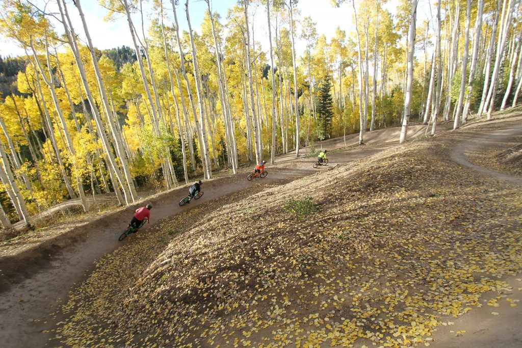 Deer Valley Resort Mountain Biking Fall