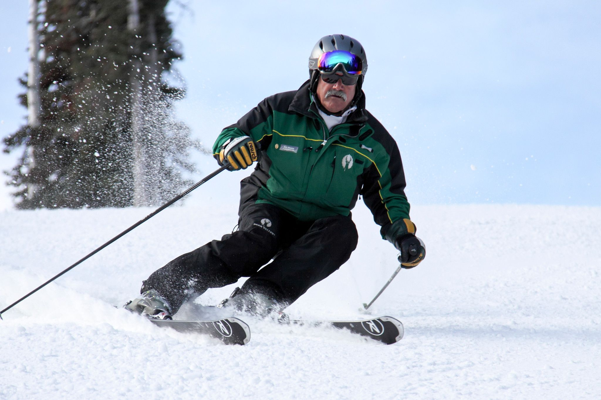 Bob Wheaton skiing at Deer Valley