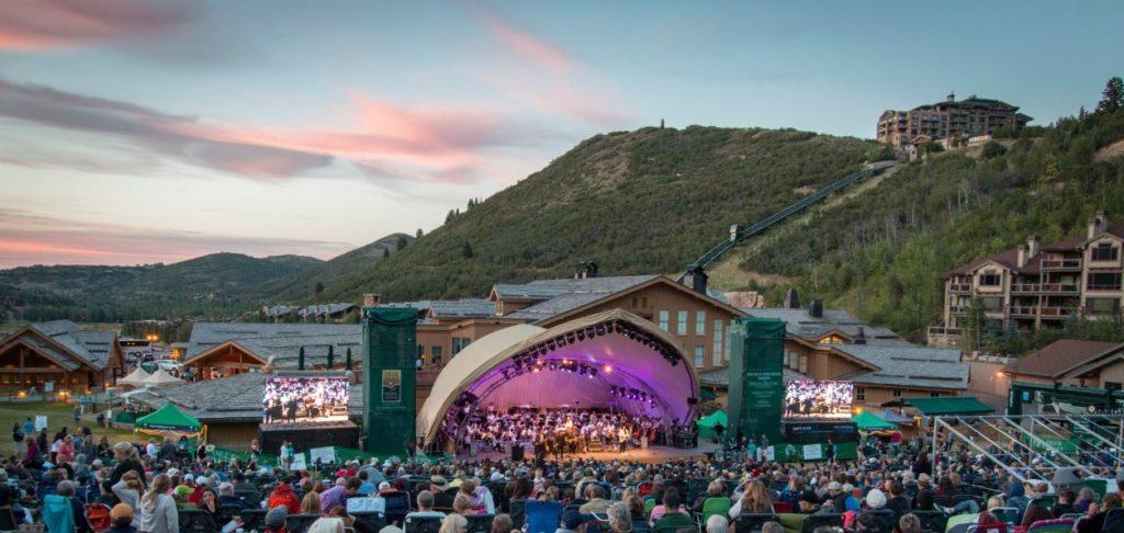 Concert Venue at Deer Valley Resort