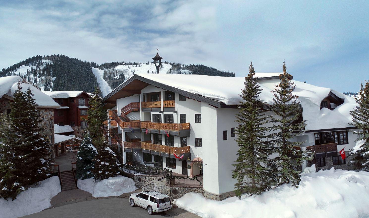 Goldener Hirsch Inn in Park City Utah at Deer Valley Resort