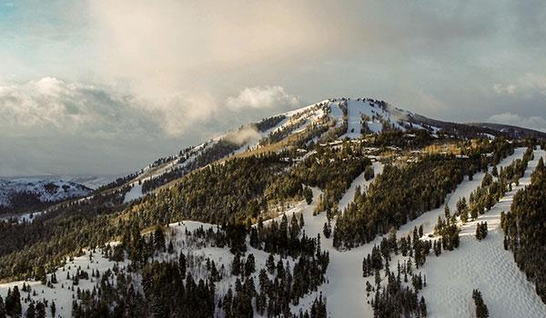Bald Mountain at Deer Valley in Park City, Utah.