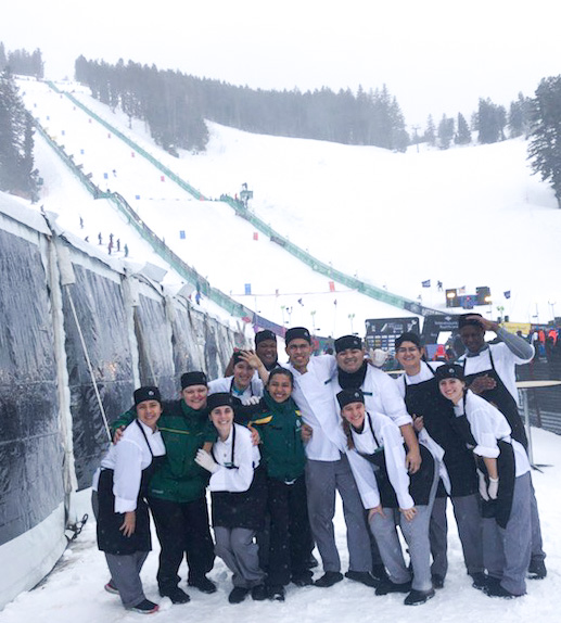 Deer Valley Food and Beverage Team at the 2020 Deer Valley World Cup