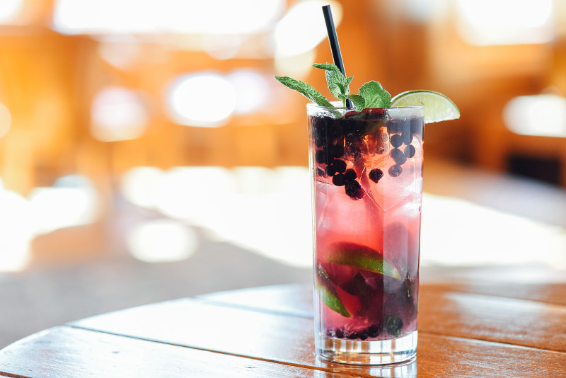 Deer Valley Deer Valley Blueberry Mojito from Royal Street Cafe