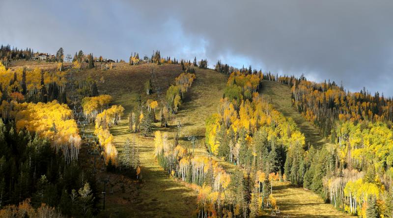 Fall in Park City, Utah.